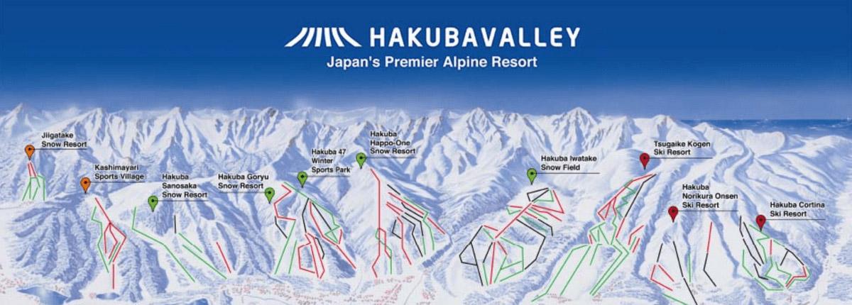 hakuba valley resort map